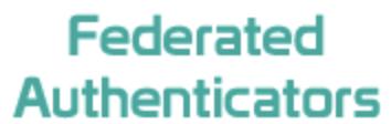 federated authenticators